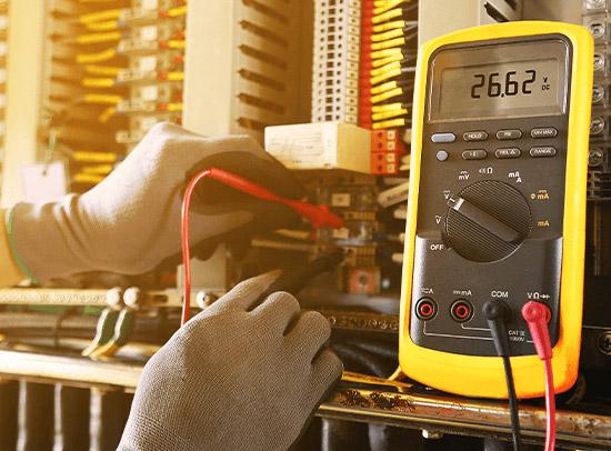 proces kontroly kvality elektrickej siete