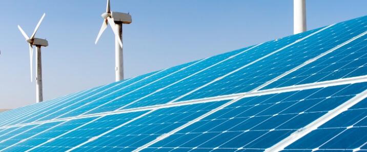 zelena elektrina a vyroba energie veternou elektrarnou