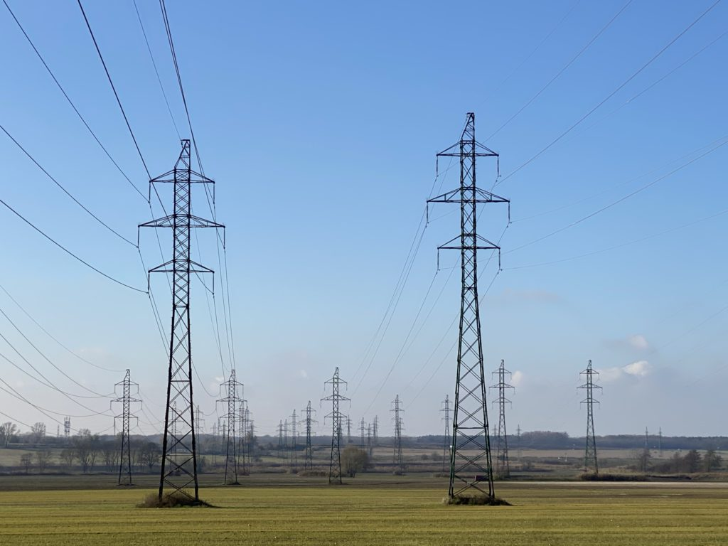 elektricka energia siete